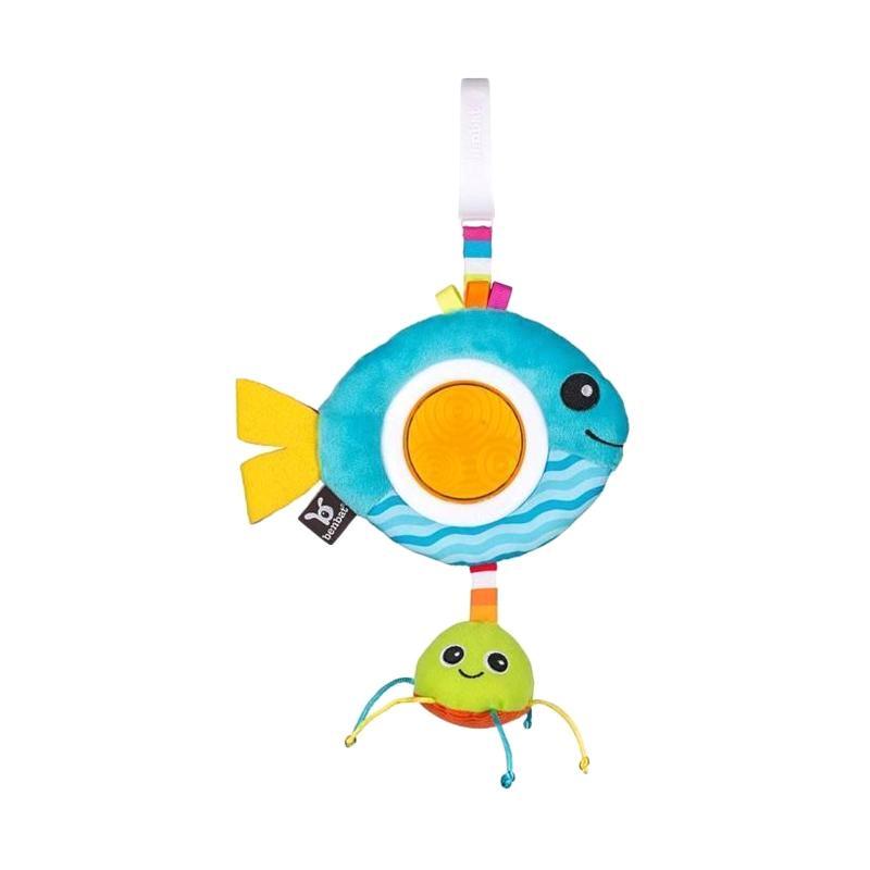 Benbat Dazzle Friends Rattle Toy - Fish
