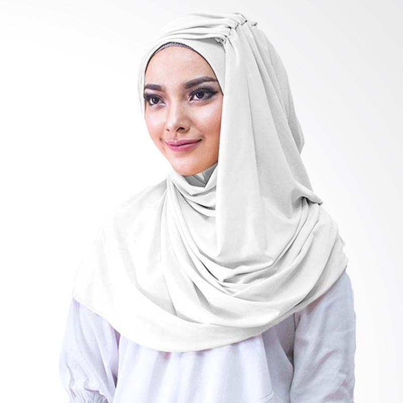 Milyarda Hijab Alesyana Jilbab Instan - Putih