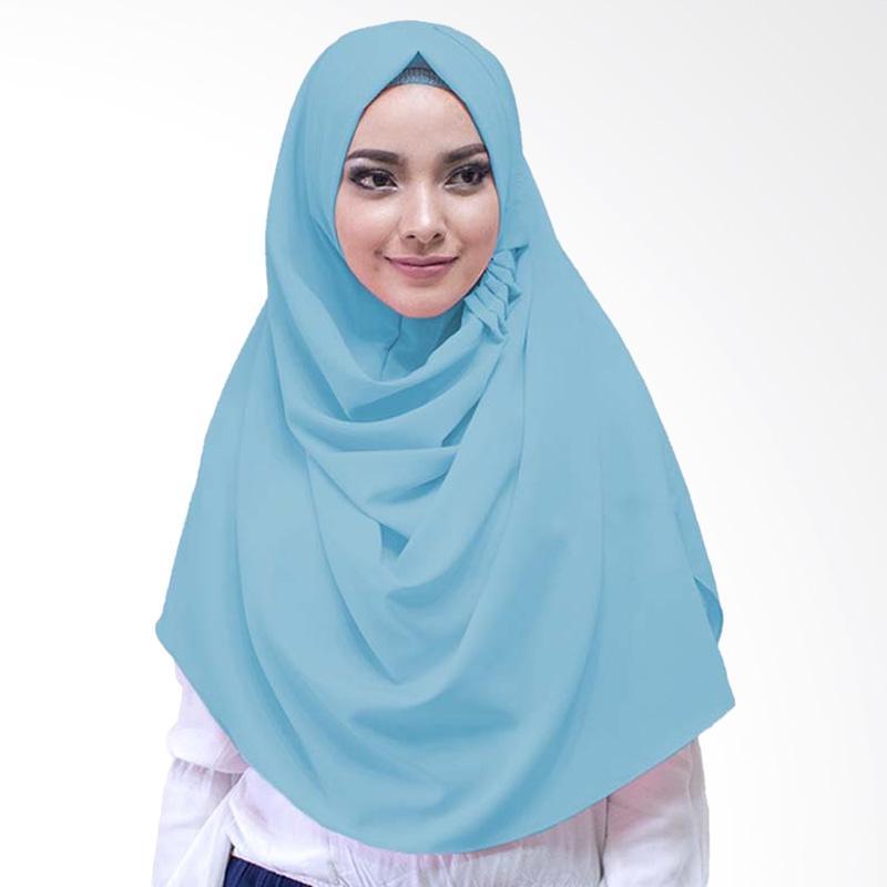 Milyarda Hijab LCB Laudya Jilbab Instan - Baby Blue