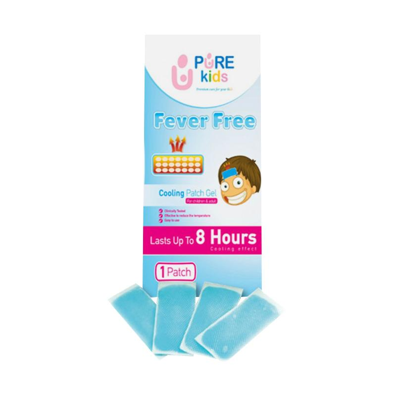 Pure Kids Fever Free Plester Penurun Panas [4 Sheet]