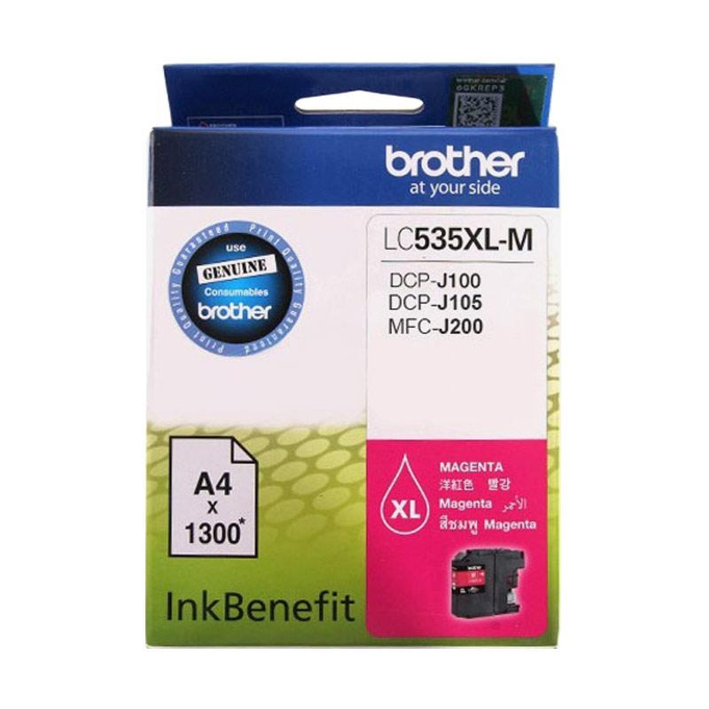 Brother LC 535 Catridge - Magenta