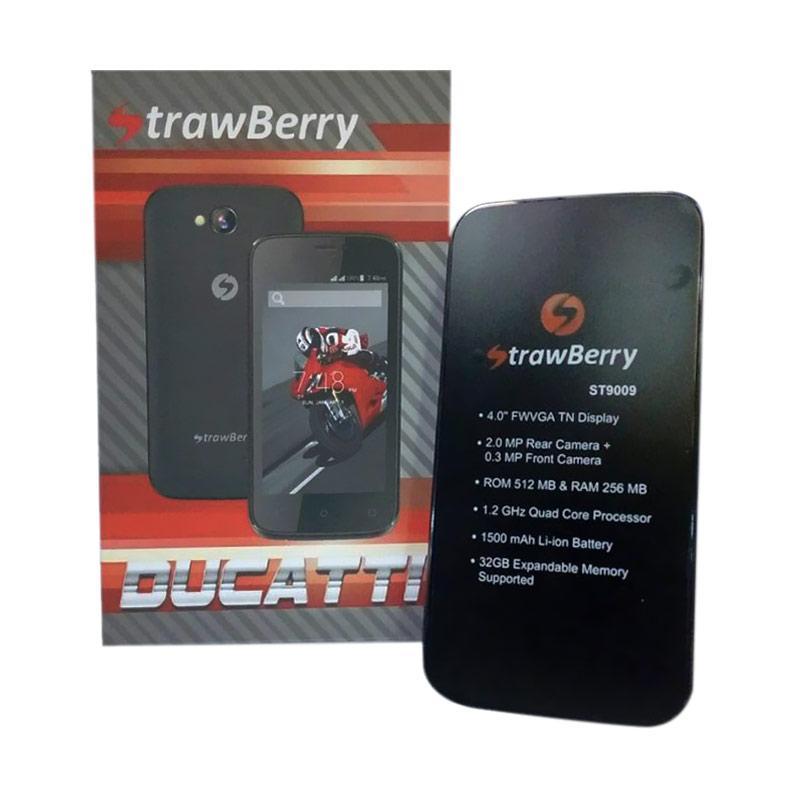 Jual Strawberry St9009 Ducatti Android Smartphone Black Online Oktober 2020 Blibli Com