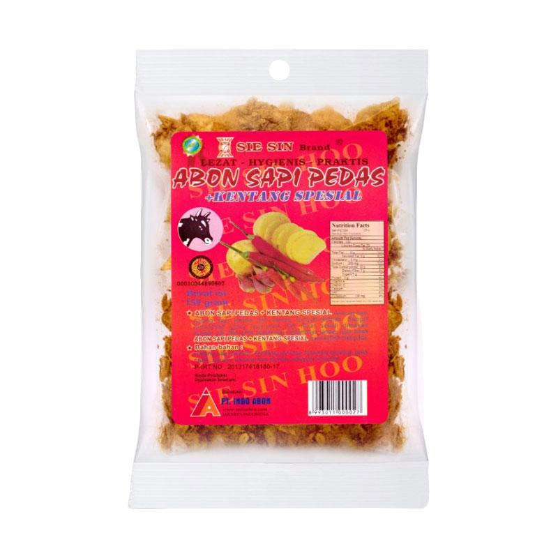 SIESIN Abon Sapi Pedas Kentang Spesial Makanan Kering [150 g]