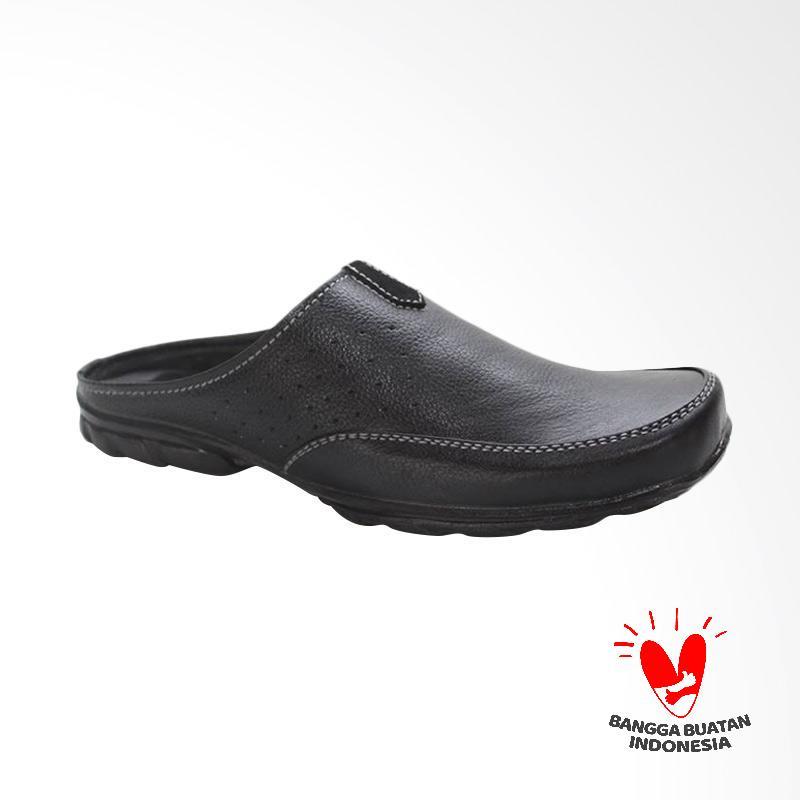 GRUTTY Sandal Bustong Pria - Hitam GR 81-090