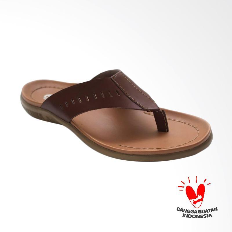GRUTTY Sandal Pria - Coklat GR 81-099