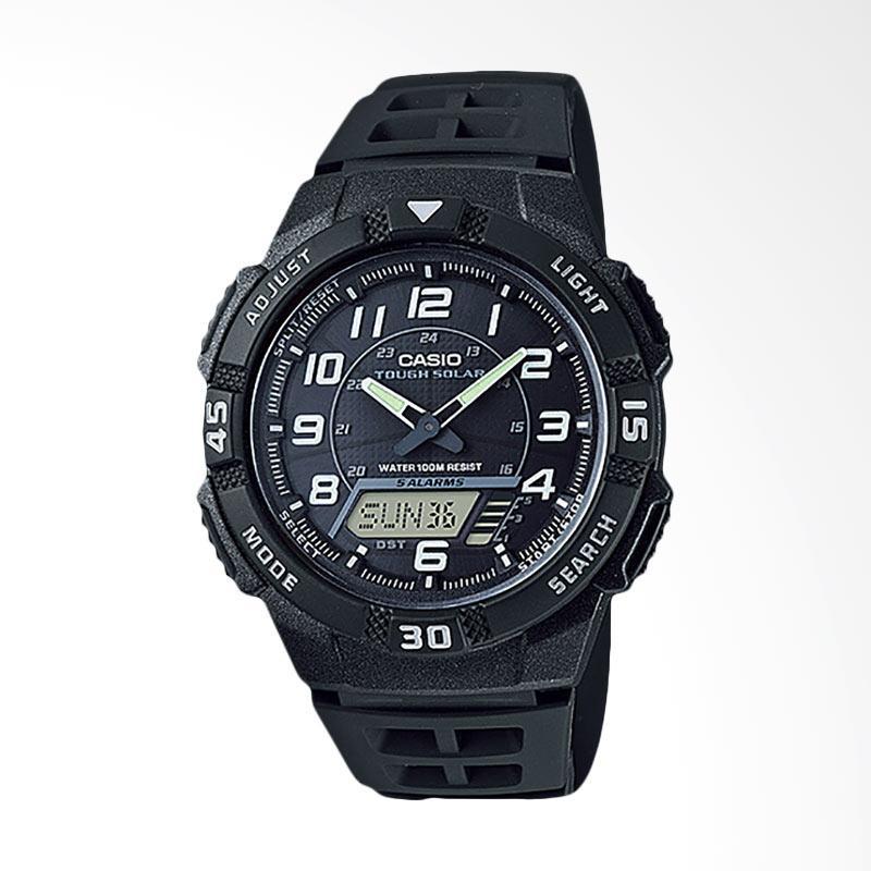 CASIO Jam Tangan Pria Black AQ S800W 1BVDF