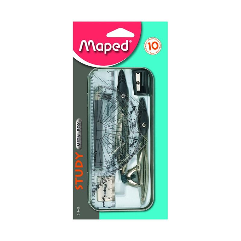 Maped Math Study Compass Set 10 in blister Jangka