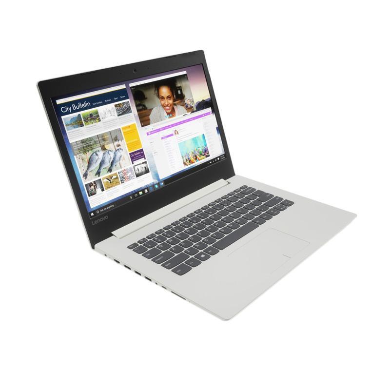 "Lenovo IdeaPad 320 14ISK-1KID Laptop - Platinum Gray [Intel Core i3-6006U 2.0GHz/4GB/1TB/GT920MX 2GB/14""/DOS]"