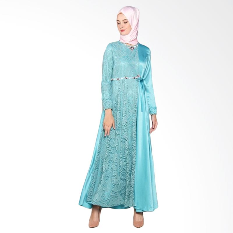 Yanna Azwar Rima Dress Muslim - Blue
