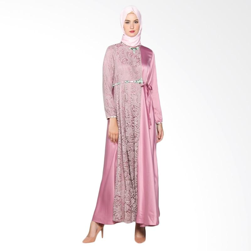 Yanna Azwar Rima Dress Muslim - Purple