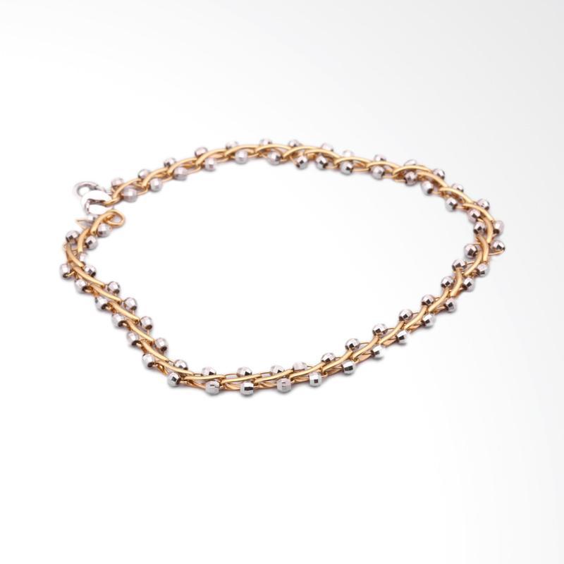 Elvarette Gelang Emas Kadar 75 - Gold  Bracelet-WHIZLIZ