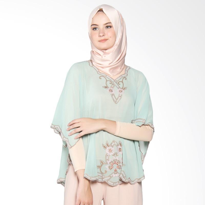 Yanna Azwar Ramona Blouse - Green