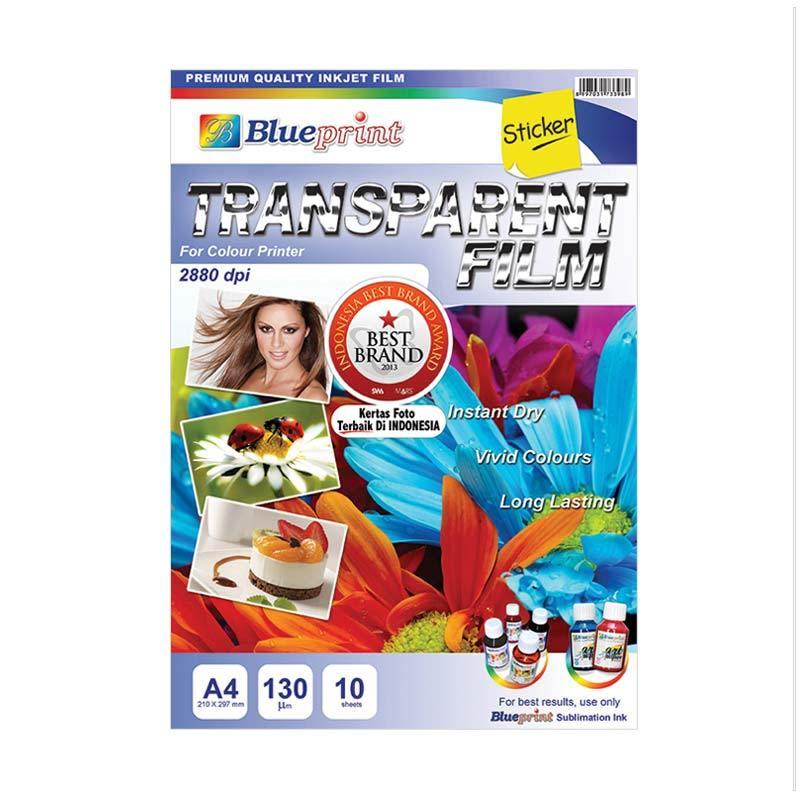 harga Blueprint BP-TFA4130 Blueprint Sticker Transparent Film Kertas Foto Blibli.com