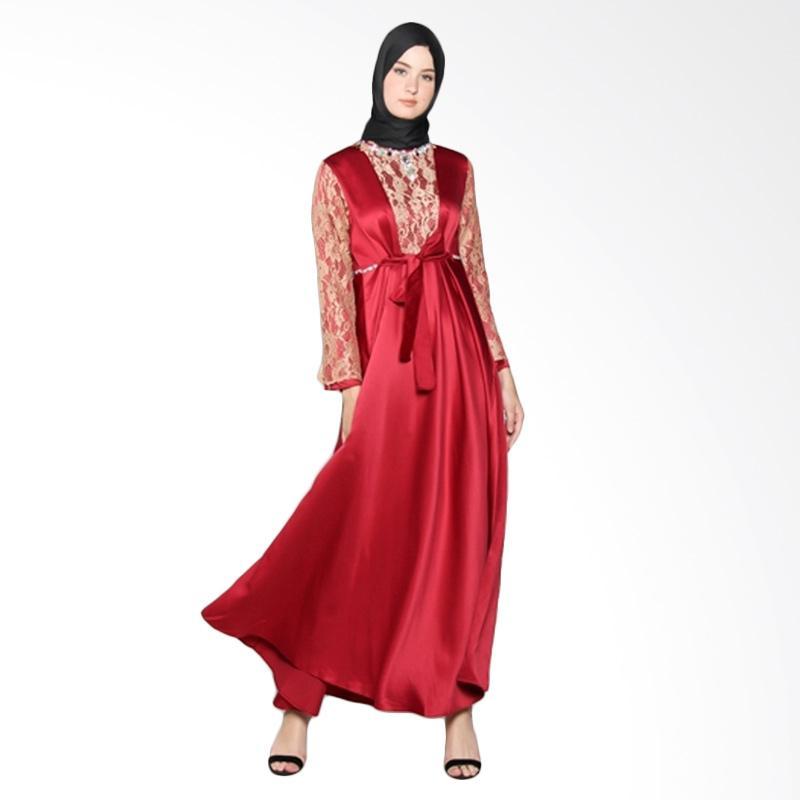 Yanna Azwar Malaya Dress - Red