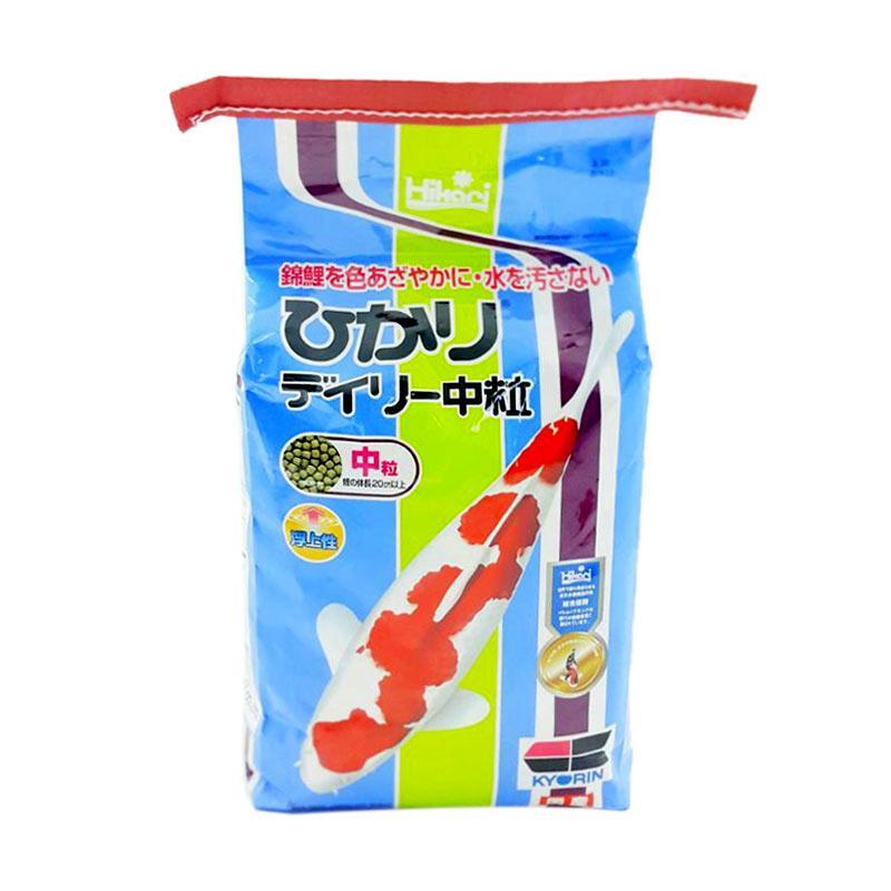 Hikari Economy Pakan Koi [Medium Pellet @4kg] by IOKOI Fish