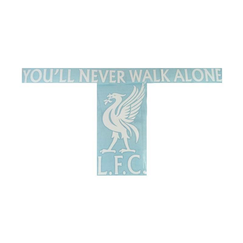 OEM Logo Liverpool LFC Stiker Siluet Kaca Body Mobil