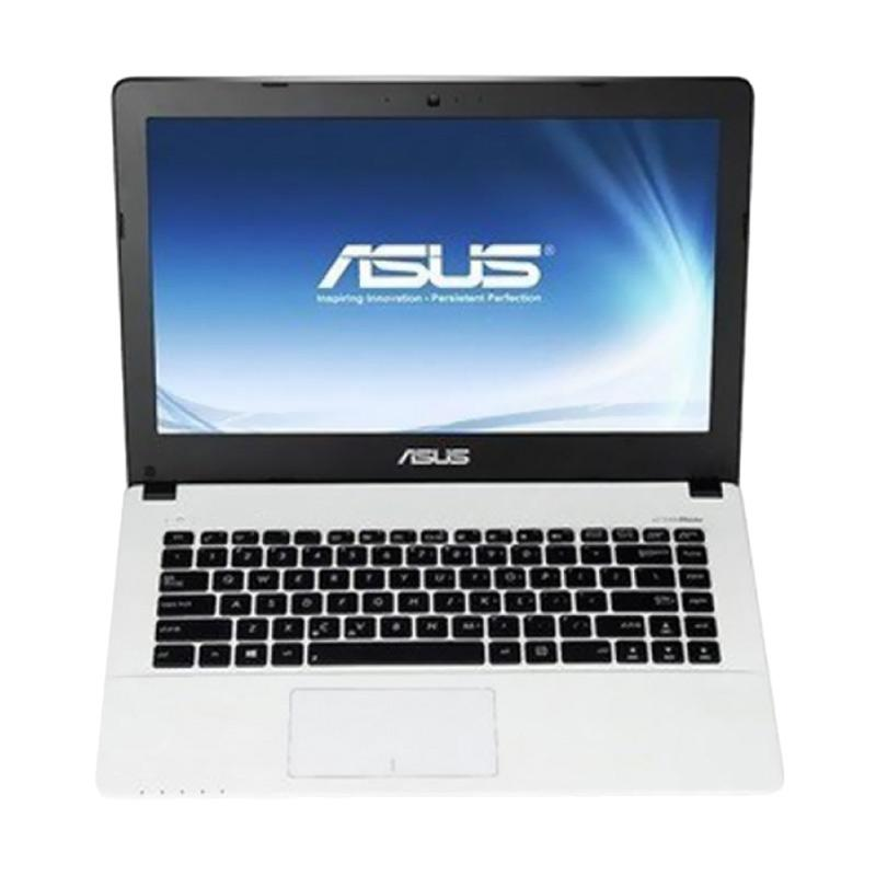 Asus X441UV-WX094D Notebook - White [i3-6006U/ 4GB/ 500GB/ GT920M-2GB/ 14 Inch/ DOS]
