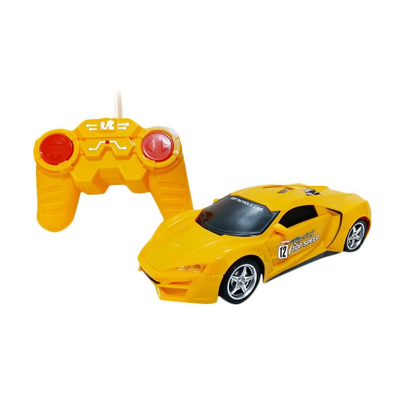 Golden Shop Top Speed Car Remote Control - Kuning