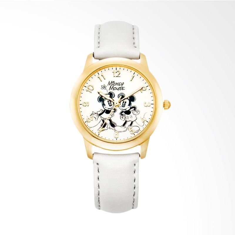 Disney MS11038-W Mickey Jam Tangan Wanita - Putih