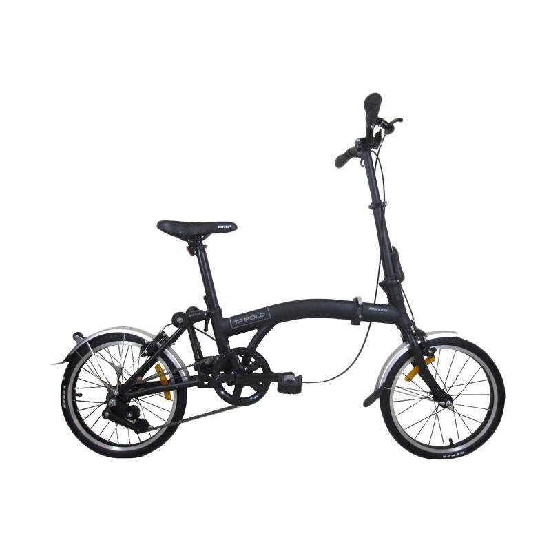 harga United Trifold Sepeda Lipat - Hitam [16 Inch] Blibli.com
