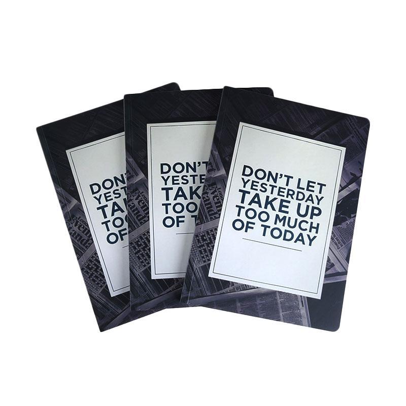 Karisma Exclusive Set Buku Tulis Don't Let Yesterday Take Up [A5/ 80 g/ 3 pcs] - 744778