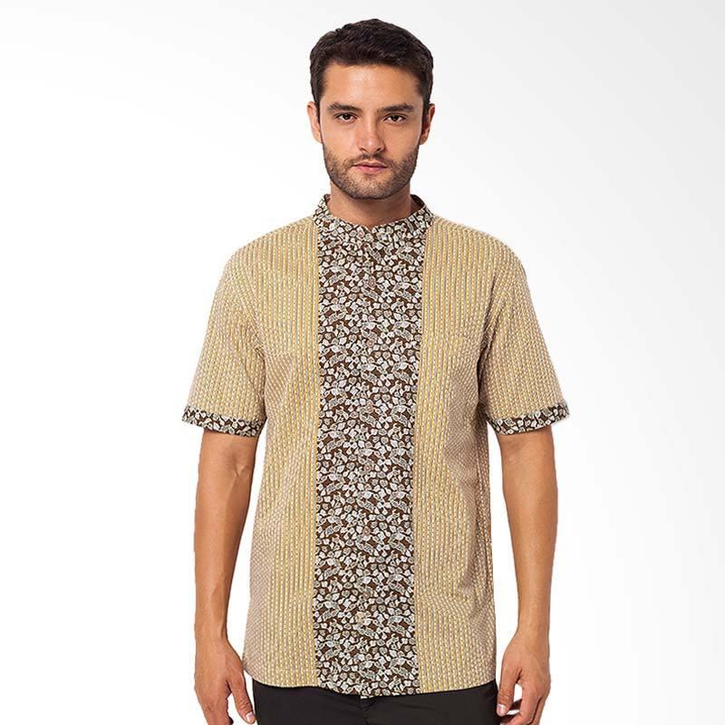 A&D Fashion Casual Koko Atasan Muslim Pria - Yellow MS 713A