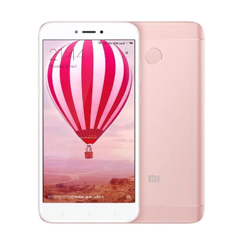 Sale Xiaomi Redmi 4X Prime Smartphone – Rose Gold [32 GB/3 GB/Garansi Resmi TAM 1 Tahun]