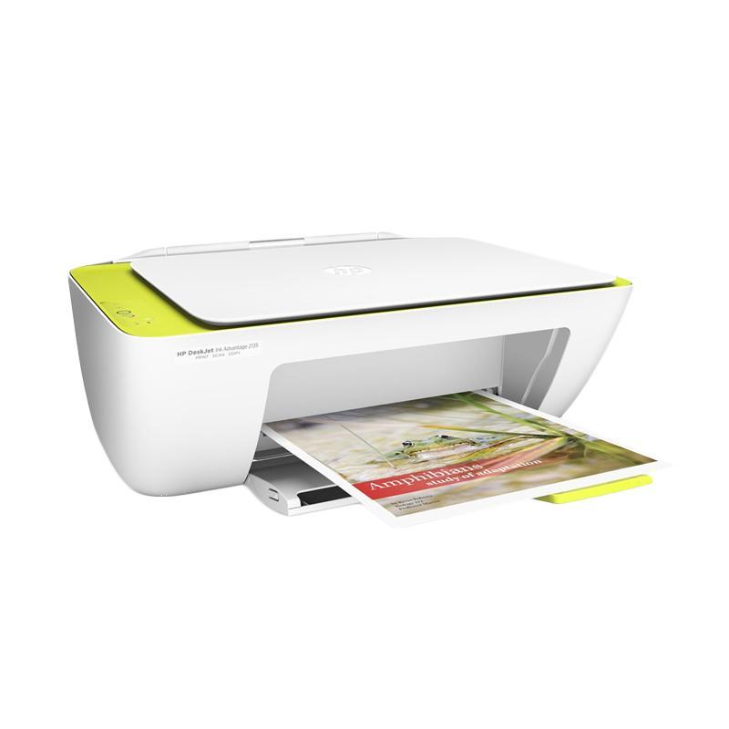 Jual HP Deskjet Ink Advantage 2135 All In One Printer - Putih Online - Harga & Kualitas Terjamin | Blibli.com