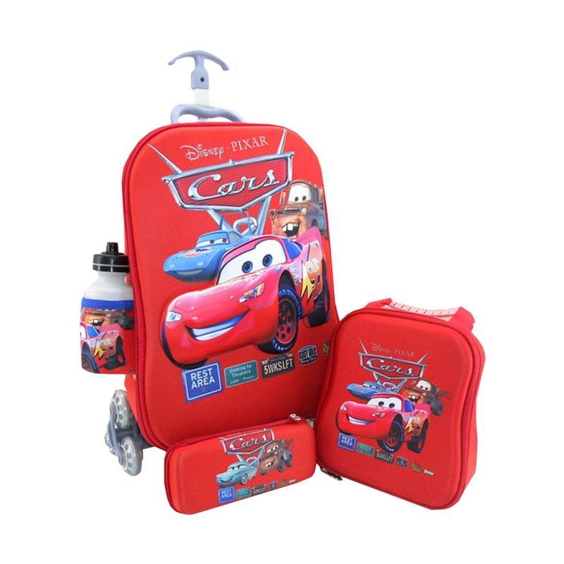 DJ Fashion 0398 3D 4in1 Set Tas Sekolah Anak