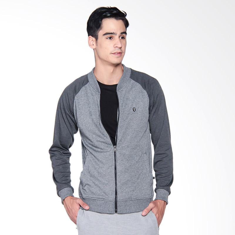 Greenlight Men 0709 Jacket Pria - Grey 207091715