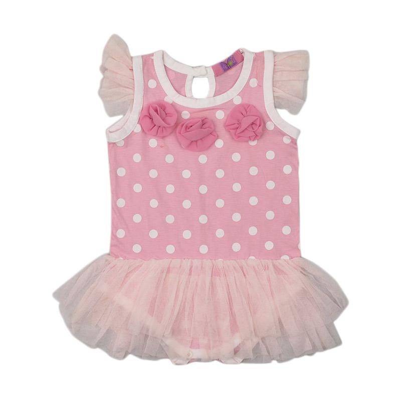 4 You Flower Jumper Pakaian Bayi - Pink