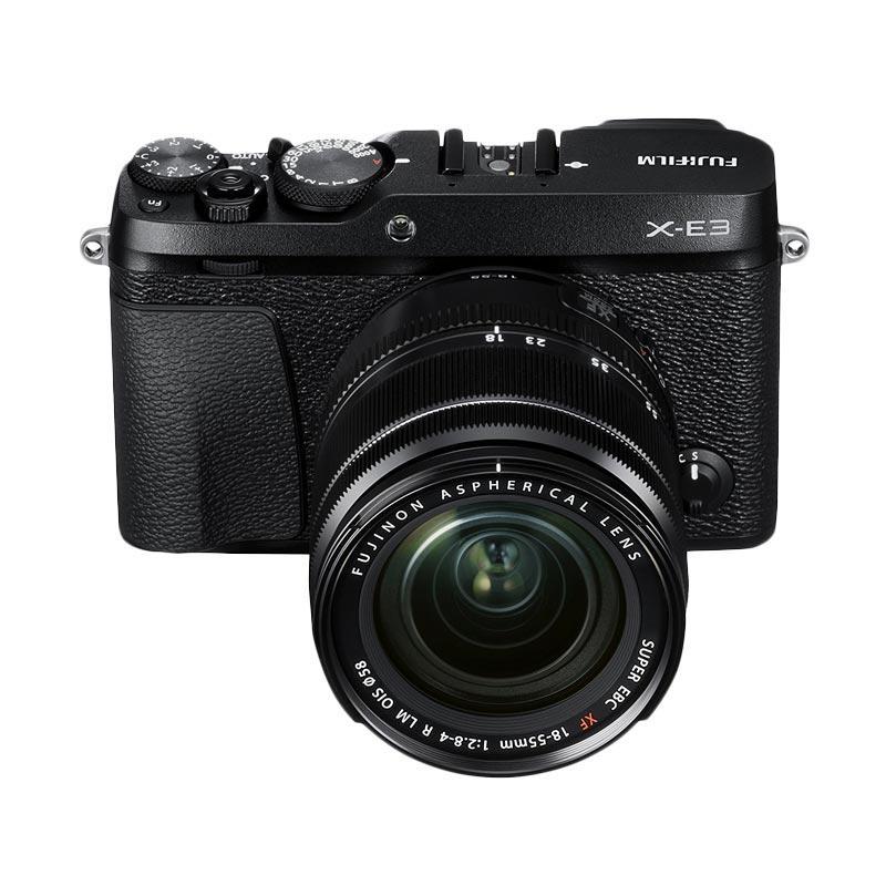 Fujifilm X-E3 Kit 18-55mm Kamera Mirrorless - Black