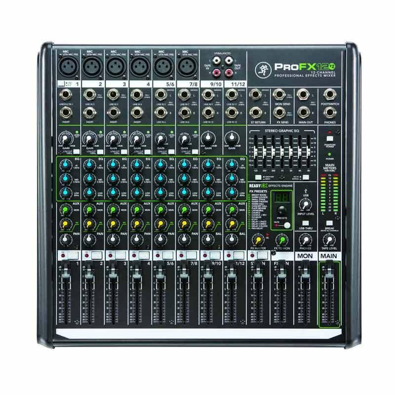 harga Mackie Pro FX 12 V2 Audio Mixers Blibli.com