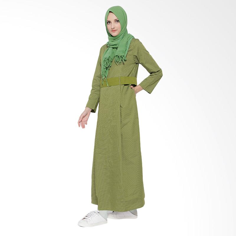 Irna Mutiara Little Star Dress Wanita - Hijau