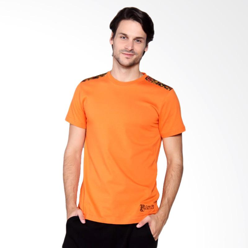 Batik Heritage T-Shirt Full - Color Orange