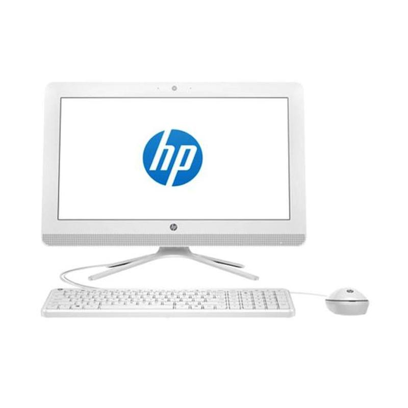 HP 20-c036l AIO Desktop PC - Putih [i5-6200U/4 GB DDR3/1 TB/DOS/19.45 Inch]