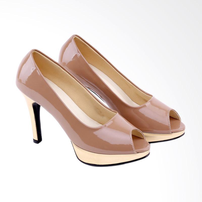 Garucci GGN 4240 Women High Heels - Cream