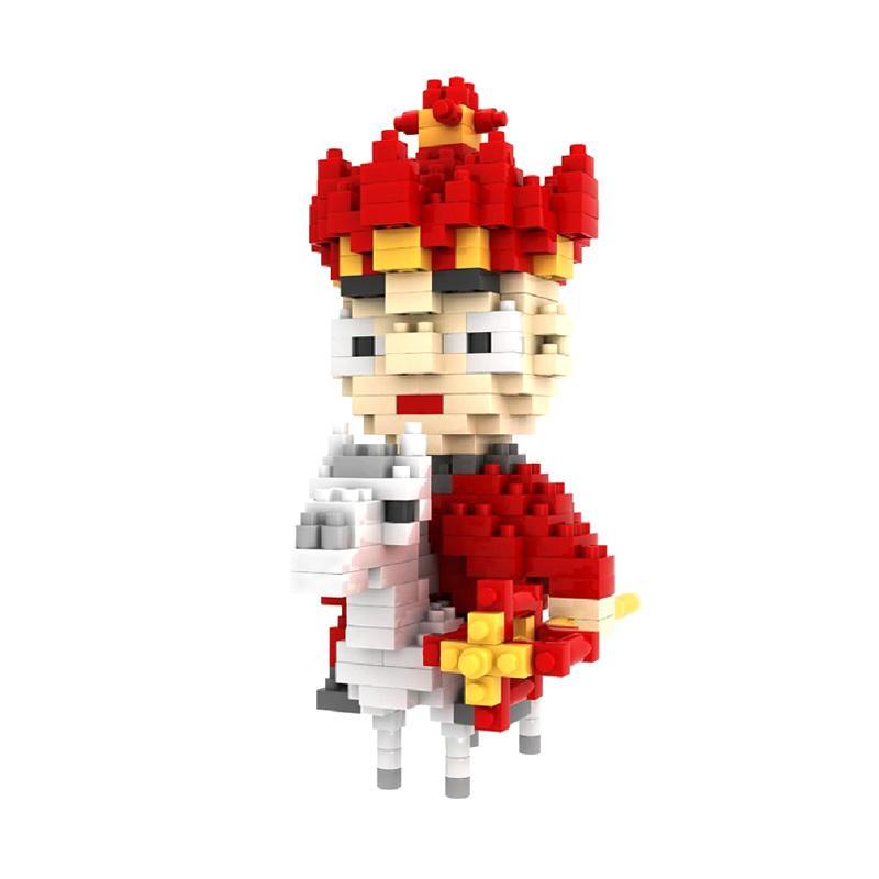 Loz Gift The Monk 9409 Mainan Blok dan Puzzle [Large]