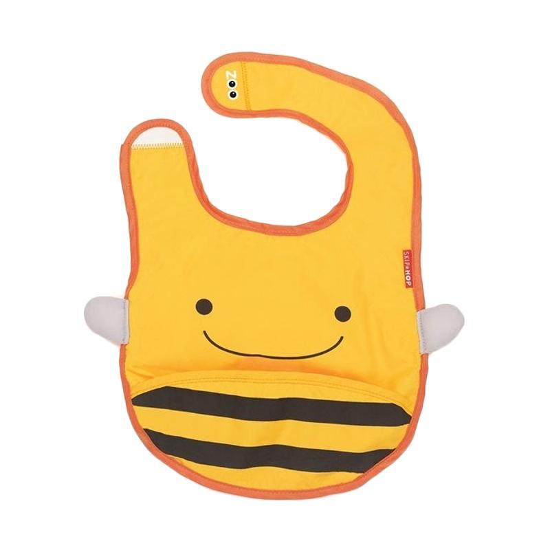 Skiphop Zoo Bib Bee Celemek Bayi - Kuning
