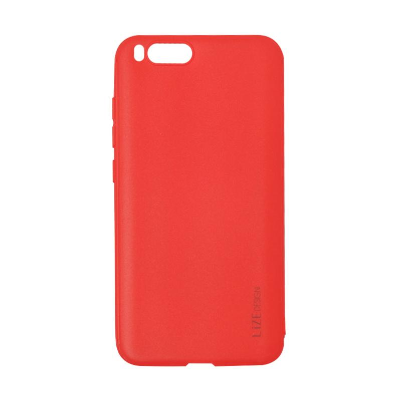 Lize Design Softshell Color Matte Softcase Casing for Xiaomi Mi 6 or Mi6 - Red