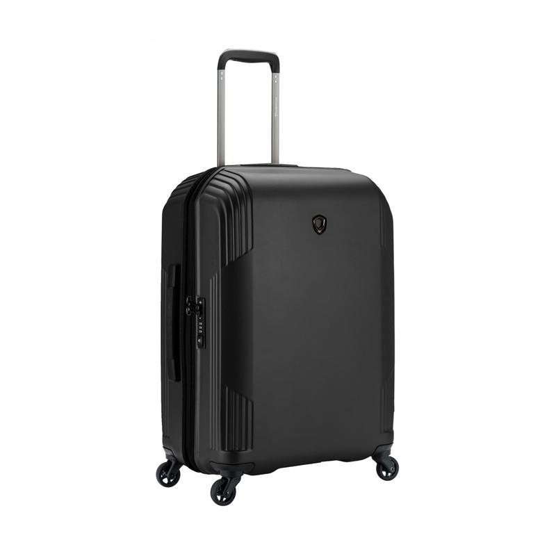Traveler's Choice Riverside Hardcase Koper - Black [Medium/26 Inch]