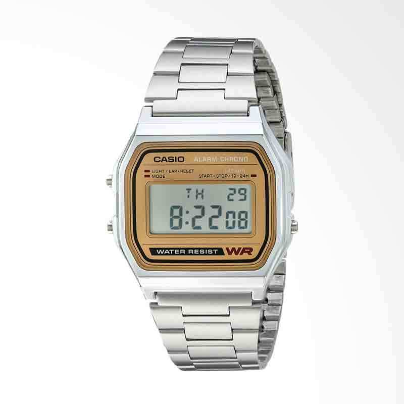 CASIO Casual Classic Digital Bracelet Jam Tangan Pria A158WEA-9CF