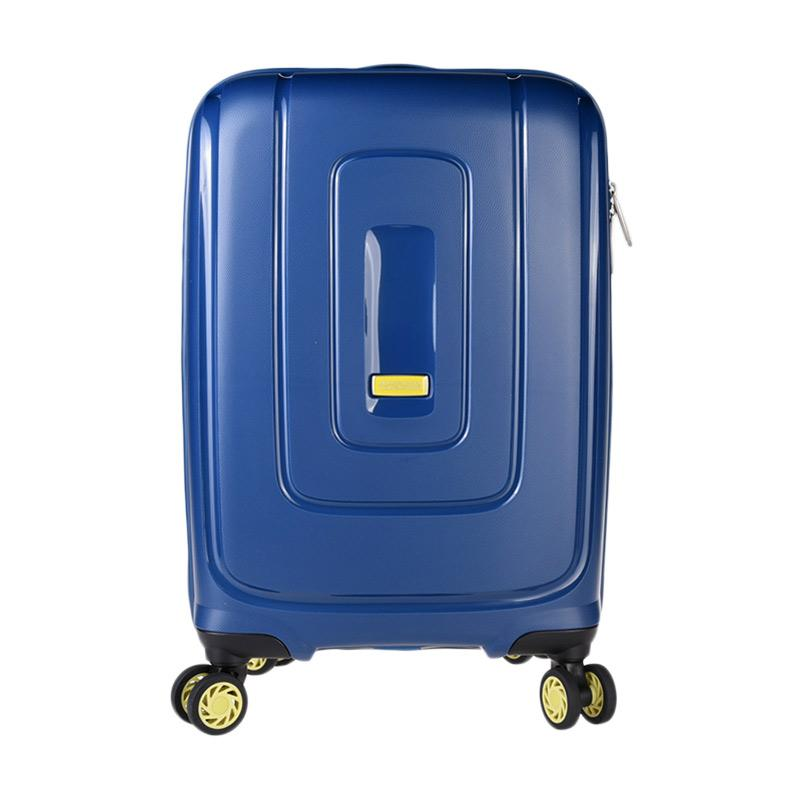 American Tourister Lightrax Spinner 55/20 Trolley Bag - Marine Blue [ACRAD8021001MEU55#]