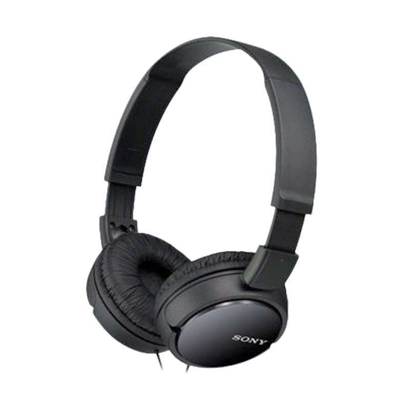Sony ZX110AP Headphone - Hitam
