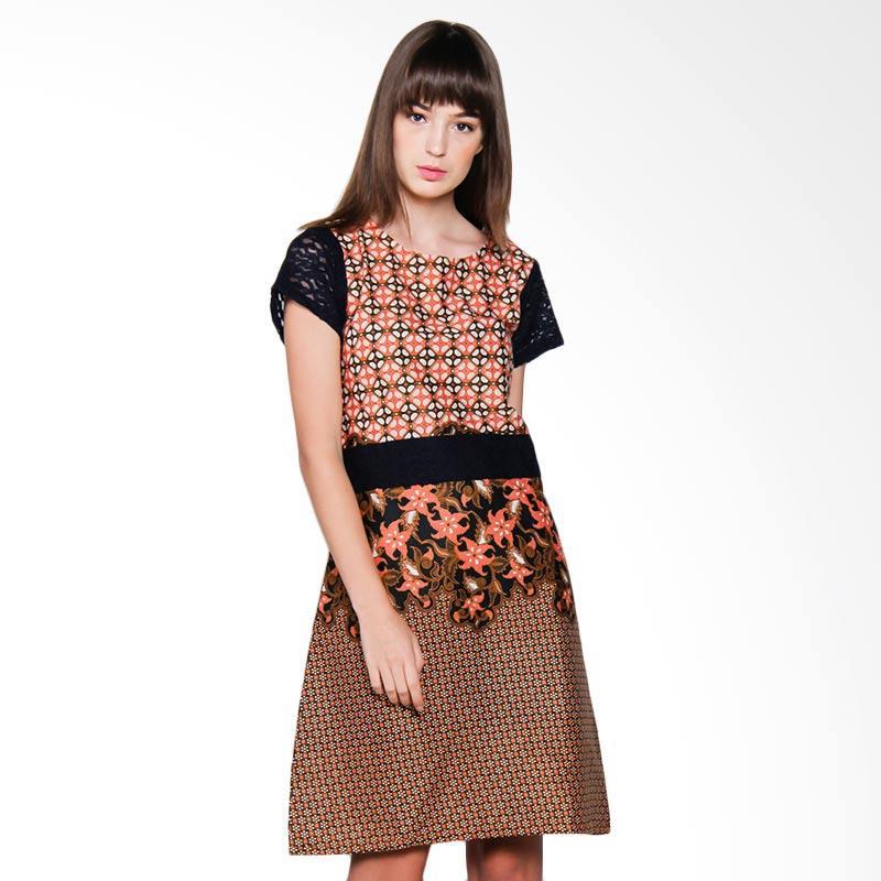 Djoemat Gembira D17-01-16 Arumdalu Dress - Brown