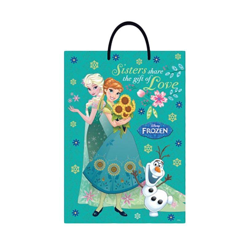 Something Sweet BA3346-PR007 Frozen Fever Sisters Forever Spring Jumbo Bag - Green