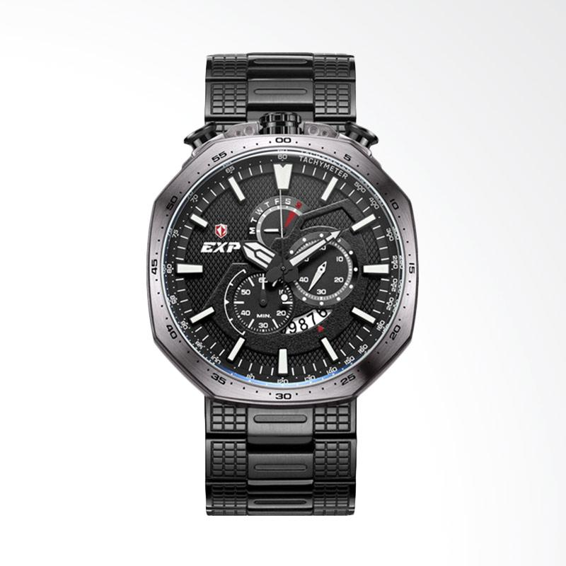 Expedition Jam Tangan Pria - Black Grey MCBIPBA EXP 6745
