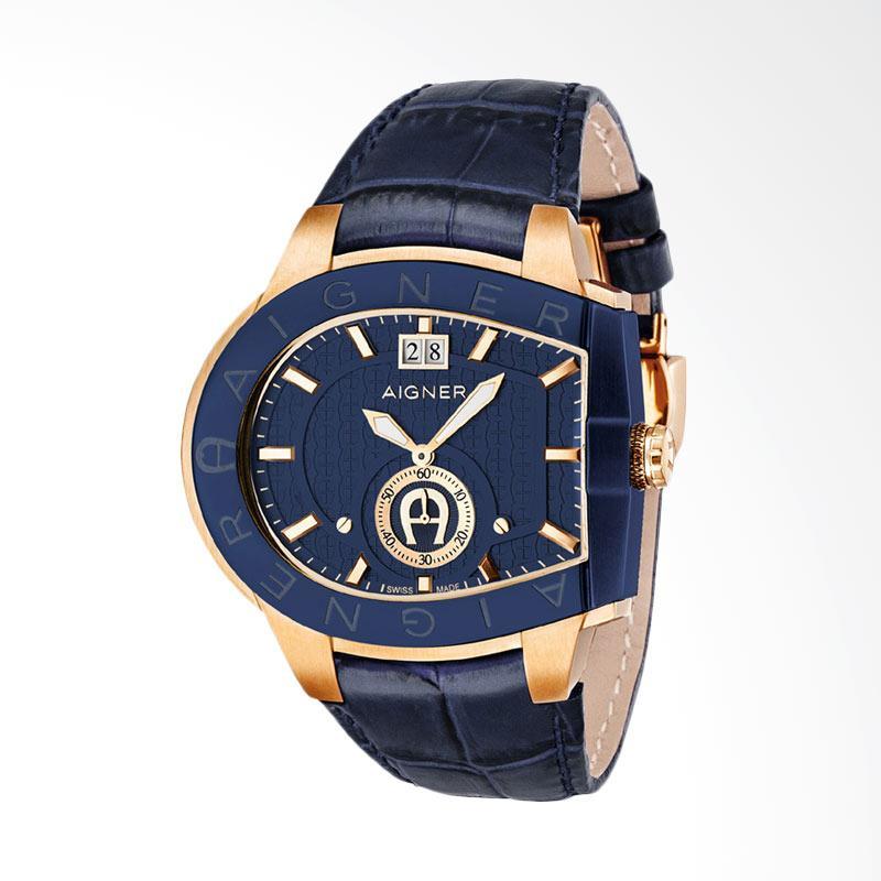 Aigner Grosseto Men Watches Jam Tangan Pria - Blue AGA15120