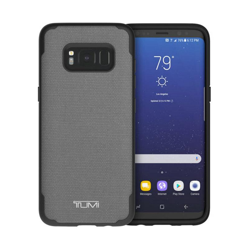 TUMI Coated Canvas CoMold Casing for Samsung Galaxy S8 - Gray