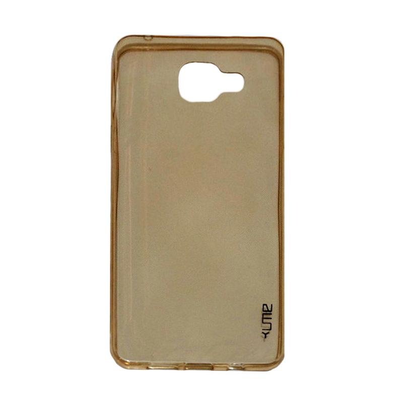 Ume Ultrathin Silicone Jellycase Softcase Casing for Samsung Galaxy A3 2016 A310 - Kuning